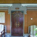 Entrance to Villa 1