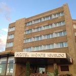El hotel a la entrada