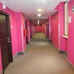 corridoio del terzo piano (camere)