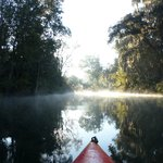 The view on Sunday morning in my kayak :)