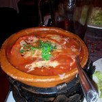 Kofte casserole attractively served