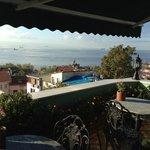 Lovely breakfast terrace