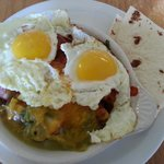 Sheepherder's Breakfast - yummy with a bit of red chile heat built in