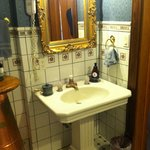The Private Room sink and tile