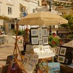 pinturas en la playa