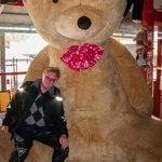 Sitting with Poppa Bear