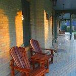 Porch at Sunrise