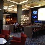 Hilton bar area