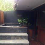 Balcony Jacuzzi - room 17