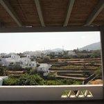Autre vue depuis le balcon de mon bungalow