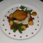 cod with welsh rarebit