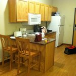 Kitchen, standard extended stay