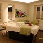 Ein Massage u Kosmetikraum