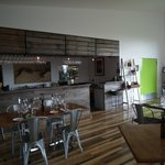 Velo Bar and Restaurant area