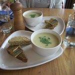 zuppe di patate e cipolle