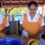 Fresh juices from Sri Lanka's wonderful fruit