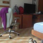 Geräumiges Zimmer mit Feinem Schreibplatz