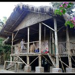 Bamboo hut at Majuli