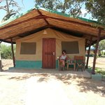 Campo tendato Sentrim a Tsavo East