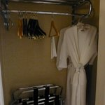 Robes provided in premium room