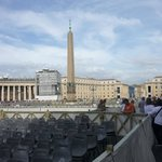 Vatican - the day before the Pope's speech