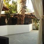 view around pool