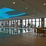 indoor swimming pool on 5th floor