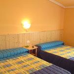 habitación triple cama matrimonio y supletoria