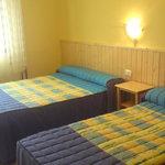 cuadruple 2 camas grandes