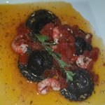 равиолли с морепродуктами