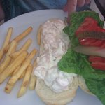 Only prawn mayonnaise sandwich we found on the whole holiday! It didn't disappoint! Yummy!