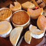 Et voici le plateau de fromage ;-)