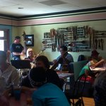 Bonni Lu's every other Sunday banjo band