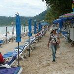 Short walk to Patong Beach