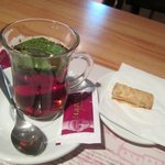 arabic tea with mint( north african way ??