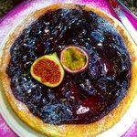 Fig and Blackberry Cake
