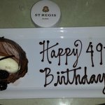 St Regis Birthday