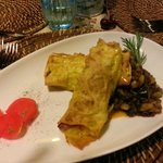 Cannelloni with Lake Fish