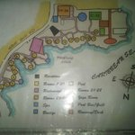 Room Map - I prefer rooms 15 - 19.  They are far enough from the sound of the road and restauran