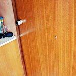 Zniszczone drzwi