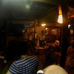 Chris and Jessie (Jerusafunk) playing at Cafe Escondido.