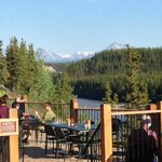 View from restaurants into Denali National Park