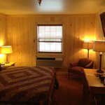 Standard King Bed Cabin Style Room