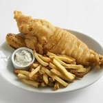 "Our classic fish and chips is now ""batter than ever"""