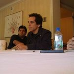 Breakfast meeting with Ben Stiller