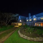 Ashgrove house under special night photography
