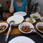 nice spicy SL dinner 580lkr, a bargain