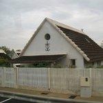 tipica casa con croce