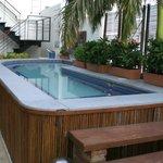 Schöner Pool zum Relaxen