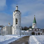 View of Kolomenskoe churches